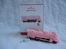 Hallmark 2013 Lionel Pink 2037 Steam Locomotive Limited Quantity Repaint Ornament