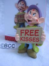 Hallmark 2013 Free Kisses Dopey Disney Snow White Limited Quantity Keepsake Christmas Ornament