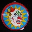 Vintage Halloween Clown Tambourine Plus Blue & White Tamborine Lot Of 2