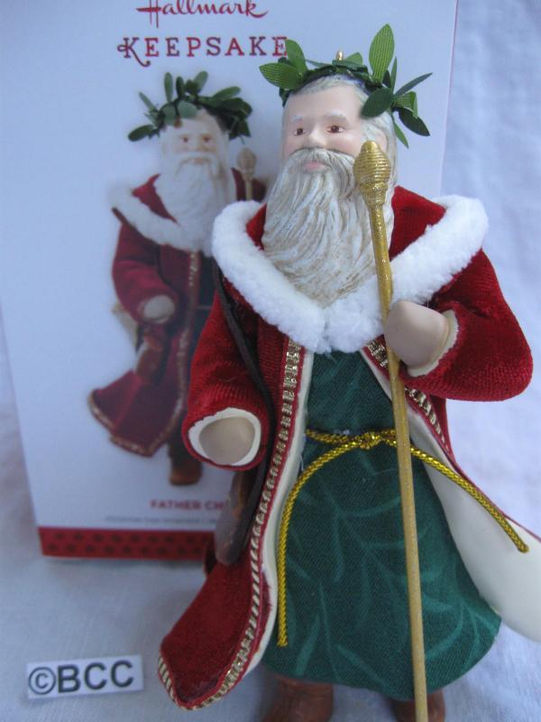 Hallmark 2013 Father Christmas 10th In Father Christmas Series Ornament