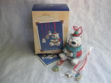 Hallmark 2002 Sweet Tooth Treats Polar Bear Cookie Jar 1st In Series 4 Christmas  Ornaments