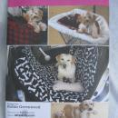 New Simplicity 2984 Car & Back Seat Cover Toys Travel Accessories Sewing Pattern