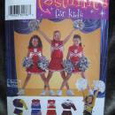 New Simplicity 0531 Girl's Cheerleader School or  Halloween Costume Sewing Pattern Size 8 10 12
