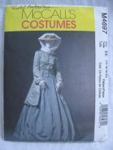 New McCall's M4697 4697 Misses' Coat Skirt Shawl Civil War Halloween Costume Sewing Pattern Size 14 16 18 20