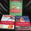 Hallmark Lot 3 Recordable Storybooks  Frosty Night Before Christmas A Charlie Brown Christmas
