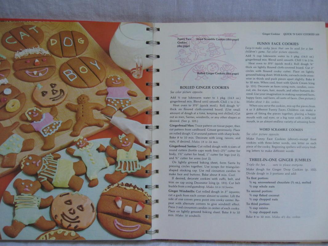 Betty Crocker's Cooky Cookie Book Cookbook Copyright 1963
