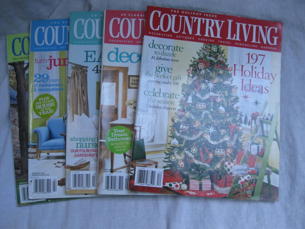 17 Country Home Magazines 2002 - 2008 Holiday Thanksgiving Christmas Halloween