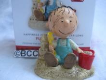 Hallmark 2013 Fun At The Beach Pigpen 1st In Peanuts Series Christmas Keepsake Ornament