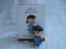 Hallmark 2013 All Set For School Lucy 2nd In Peanuts Series Christmas Keepsake Ornament Exclusive