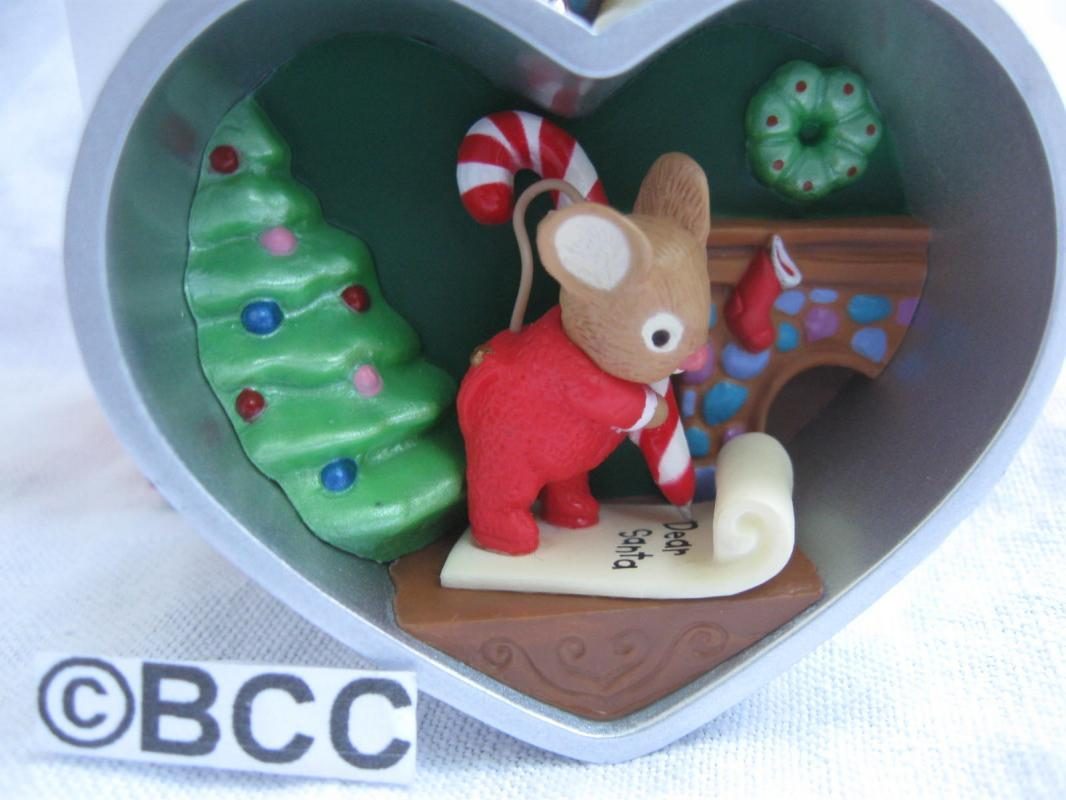 Hallmark 2013 Mouse Cookie Cutter 2nd In Series Christmas Keepsake Ornament Exclusive