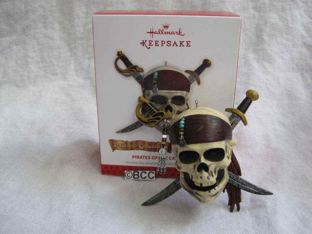 Hallmark 2013 Pirates Of The Caribbean Magic Sound  Keepsake Christmas Tree Ornament