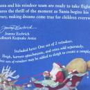 Hallmark 2005 Santa's Midnight Ride Ready For Flight Set of 2 Keepsake Christmas Tree Ornaments