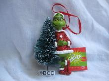 Department 56 2013 The Grinch & Bottle Brush Christmas Tree Dr. Suess Ornament
