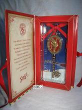 Hallmark 2013 North Pole Santa's Magic Key Christmas Ornament