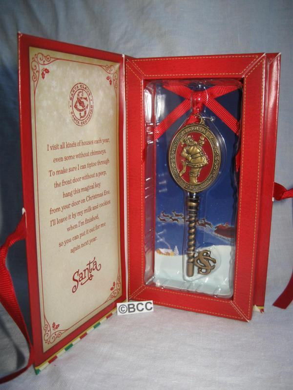 Hallmark 2013 North Pole Santa's Magic Key Christmas Ornament