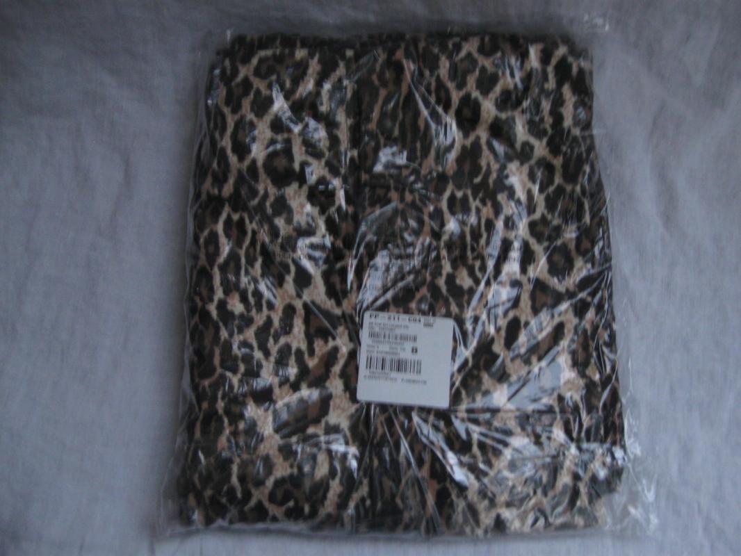 Nick & Nora Leopard Pajamas PJ's Sexy Valentine's Day Womens New Size XXL