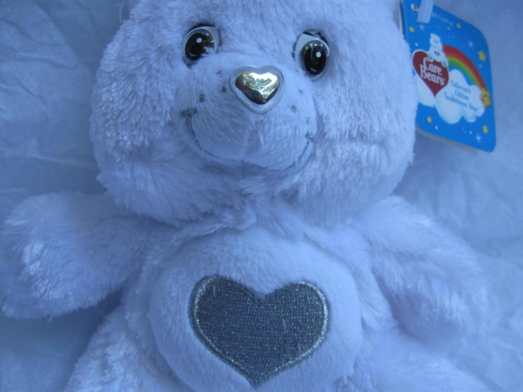 Limited  Edition 25th Anniversary Silver Tenderheart Care Bear 7