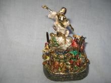 He Is Risen Indeed Jesus Christ Resurrection Trinket Box Soldiers 2006 Hinn Ministries