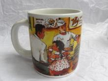 2002 Walgreen 1940's Soda Fountain Commemorative Mug by Elina Belgorodsky