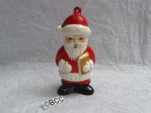 Vintage Goebel Santa Claus Porcelain Christmas Tree Ornament 1st In Series
