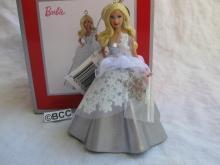 Carlton American Greetings Holiday Barbie 2013 25th Anniversary Ornament