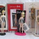 Hallmark Carlton 1994 2009 2013 Swimsuit Debut Barbie Lot Of 3 Christmas Ornaments