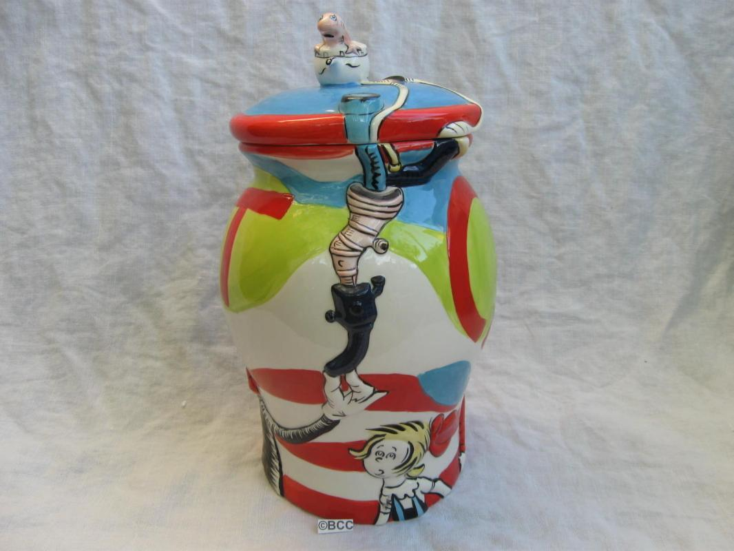 Dr. Suess The Cat In The Hat Cookie Jar Applause Universal Studios