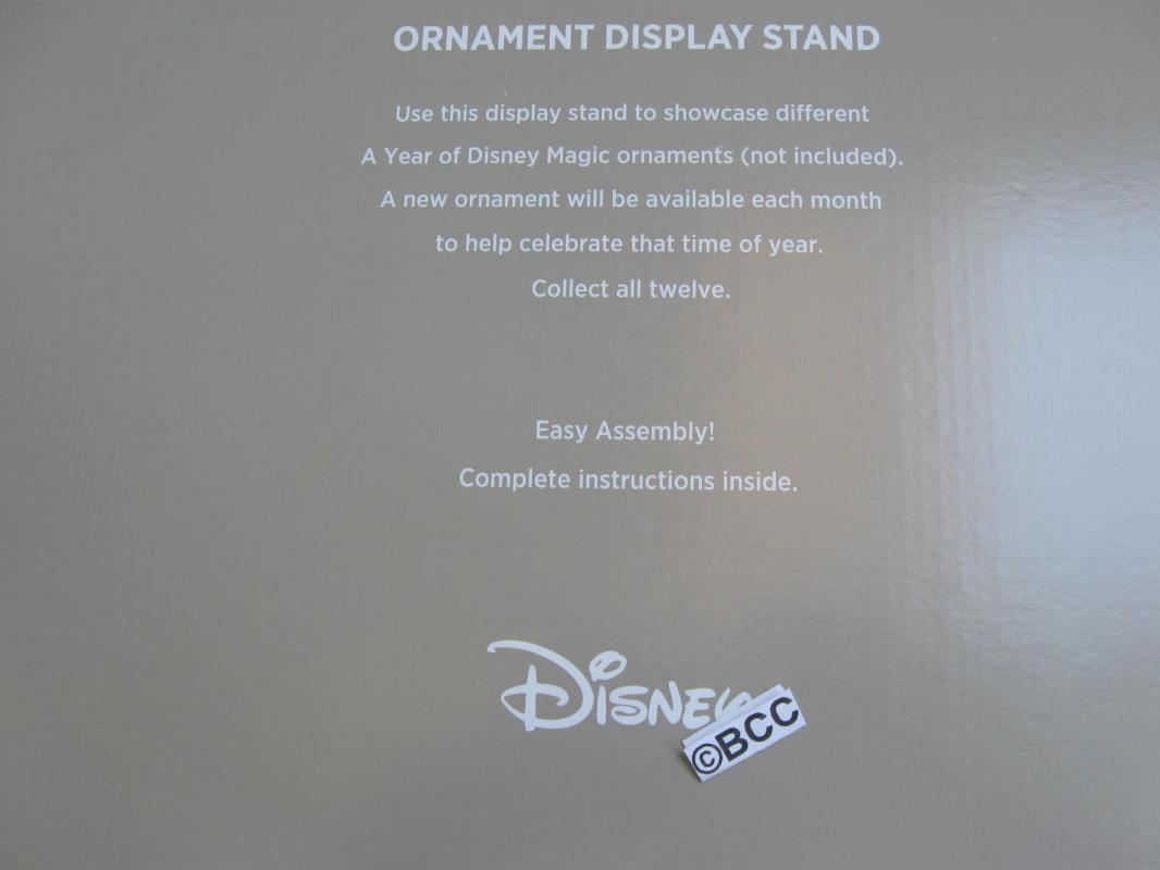 Hallmark 2014 Mickey Mouse Ornaments Display Stand New Christmas