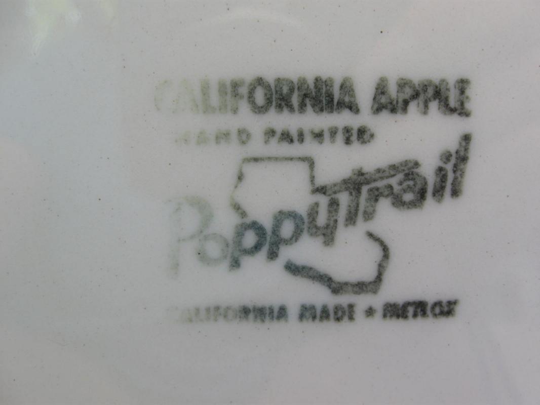 Vintage California Apple Poppytrail 13
