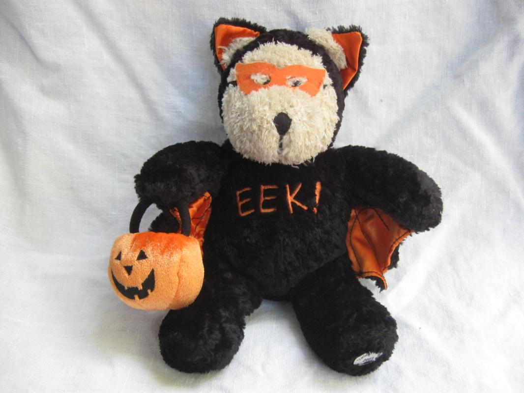 Starbucks Halloween Bearista Bear Bat 2003 Plush