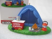 Hallmark 2013 Happy Campers Magic Light Christmas Ornament