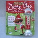 Hallmark 2012 Merry Okee Christmas Karaoke Elf Sound Microphone w/songbook