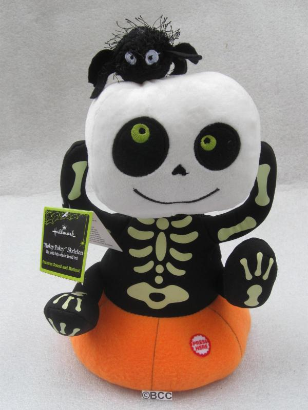 Hallmark 2011 Animated Hokey Pokey Skeleton Magic Sound & Movement