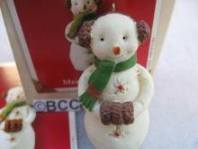 Hallmark 2003 Merriweather The Snowmen Of Mitford Christmas Ornament