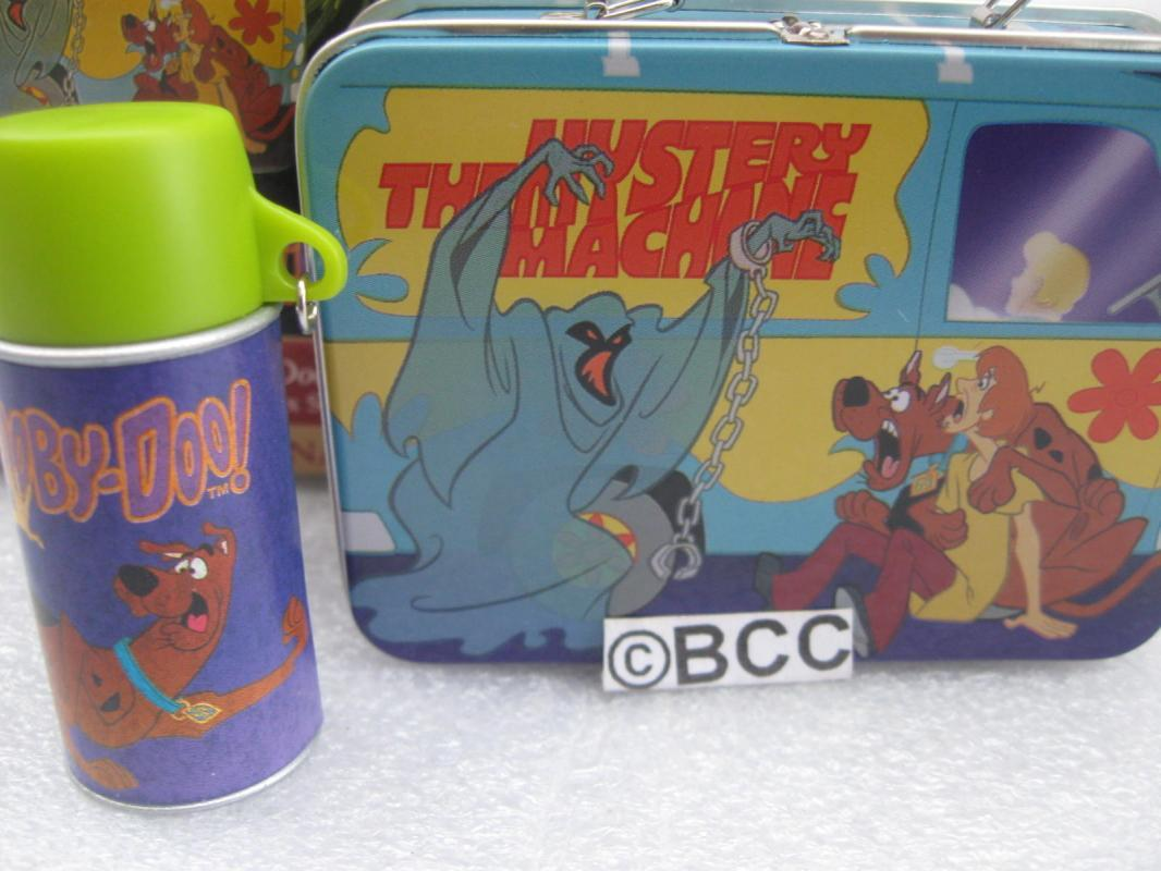 Hallmark 1999 Scooby Doo Lunch Box Set - Set of  2  Christmas Tree Ornaments