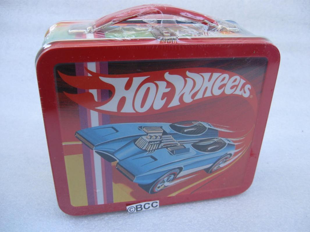 New Hallmark 1997 Hot Wheels School Days Lunch Box Lunchbox In Original Shrink Wrap
