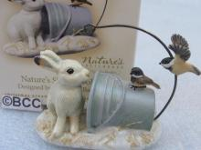 Hallmark 2007 Nature's Sketchbook Rabbit Marjolein Bastin 5th In Series Ornament Black Capped Chickadee