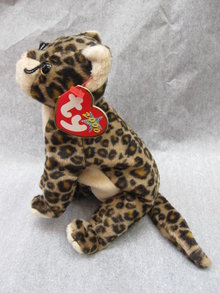 Ty Sneaky The Leopard Cub Beanie Baby