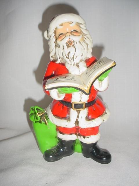Josef Originals Singing  Santa Claus