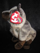 Ty Howl The Wolf Retired Beanie Baby - Great Halloween Decor!