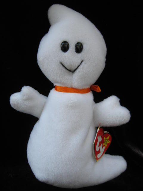 Ty Spooky The Halloween Ghost  Beanie Baby