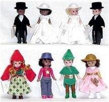 8 Madame Alexander Dolls -  McDonald's 2002 Set