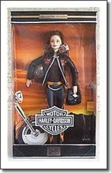 Mattel Harley Davidson  Barbie Doll #5 in Series Harley Barbie Doll