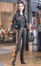 Mattel Harley Davidson  Barbie Doll #5 in Series Harley Barbie Doll