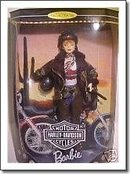 Mattel Harley Davidson Barbie Doll #2 in Series - Harley Barbie Doll