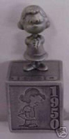 Hallmark 2000 Five Decades of Lucy Pewter Figurine