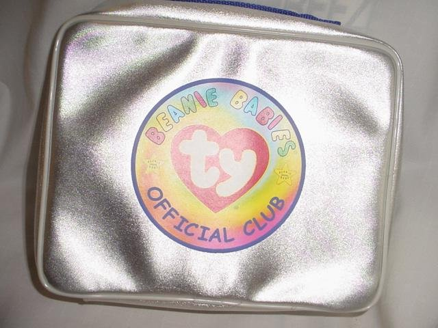 Ty Beanie Baby Clubby II The Bear Platinum Membership Kit Silver Colored Coin