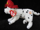 Ty Fireplug Fire Plug  The Dog  BOM  Beanie of the Month Beanie Baby