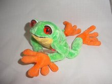 Ty Beanie Baby Panama The Frog