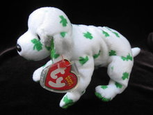 Ty  Blarn-e The Irish Dog Blarney Retired Beanie Baby